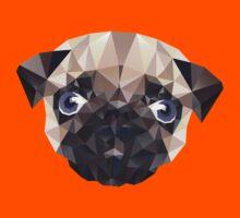 Pug Diamonds Kids Tee
