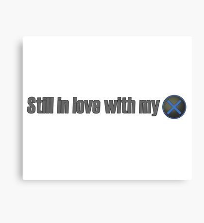 """Still in love with my """"Ex"""" (Playstation version) Canvas Print"""