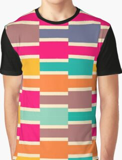 Connected colorful rectangles Graphic T-Shirt