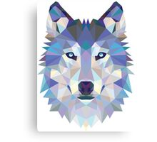 Polygonal Dire Wolf Canvas Print