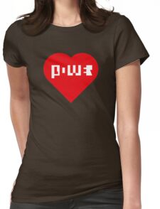 Power Of Love Womens Fitted T-Shirt