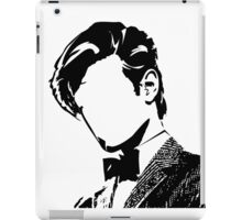 Doctor Matt The 11th - vacant expression iPad Case/Skin