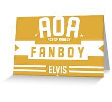 FANBOY AOA Greeting Card