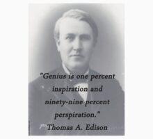 Genius - Thomas Edison Kids Tee