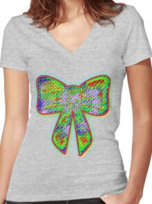 my darling! what a gift! Women's Fitted V-Neck T-Shirt