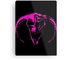 Masters Of Hardcore Pink Logo Metal Print