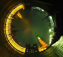 big ben photo tunnel by tony4urban