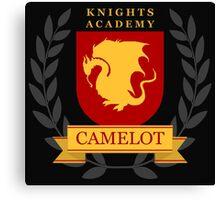 Camelot Knights Academy Print Canvas Print