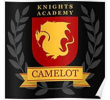 Camelot Knights Academy Print Poster