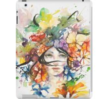 All coluors of my wild love iPad Case/Skin