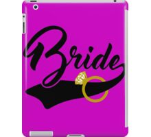 Bride ring iPad Case/Skin