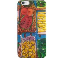 Farmer's Market iPhone Case/Skin