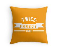 TWICE FANBOY Throw Pillow
