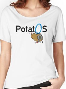 Potato GladOS Women's Relaxed Fit T-Shirt