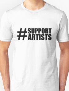 #SUPPORTARTISTS - by m a longbottom - PLATFORM58 Unisex T-Shirt