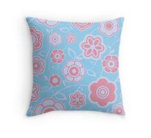 Pretty Petals - Flower Pattern Throw Pillow