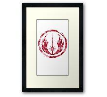 Jedi Emblem Framed Print