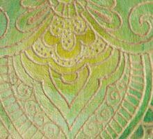 The engraved hamsa Sticker