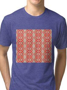 Vitrail rouge Tri-blend T-Shirt