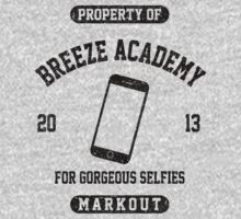 Breeze Academy for Gorgeous Selfies Kids Tee