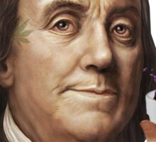 Ben Franklin Lean Sticker