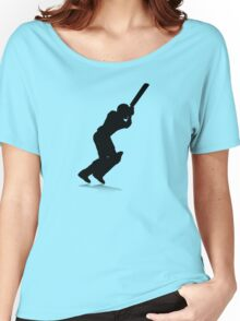 Cricket Player Women's Relaxed Fit T-Shirt