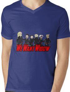 We Want Widow Mens V-Neck T-Shirt