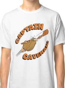 Captain Caveman White Classic T-Shirt