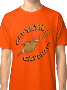 Captain Caveman White Classic T-Shirt