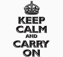 Keep Calm & Carry On, Be British! (Chisel), UK, WW2, WWII, Propaganda T-Shirt