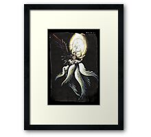 Safer Sephiroth vintage Framed Print
