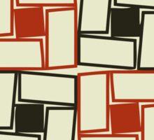 Square Rectangles Pattern Sticker