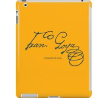 Goya - Signature iPad Case/Skin