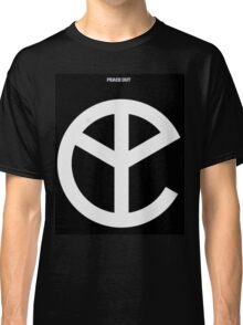 YMFC Peace Out Logo Classic T-Shirt