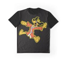 Hong Kong Phooey Black  Graphic T-Shirt