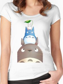 My Neighbor Totoro - 6 Women's Fitted Scoop T-Shirt