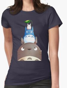 My Neighbor Totoro - 6 Womens Fitted T-Shirt