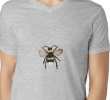 bumble bee Mens V-Neck T-Shirt