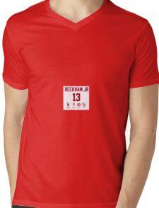 Odell Beckham Funny Stats Mens V-Neck T-Shirt