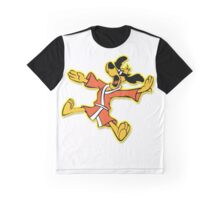 Hong Kong Phooey White Graphic T-Shirt