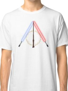 Fantasy Hallows (White Version) Classic T-Shirt