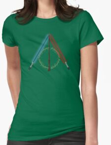Fantasy Hallows (White Version) Womens Fitted T-Shirt