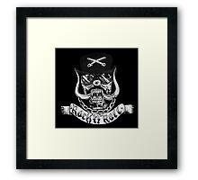Lemmy Rest in Peace Framed Print