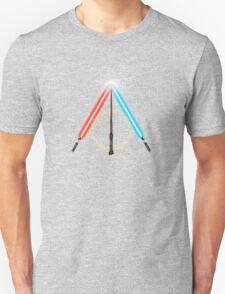 Fantasy Hallows (Black Version) Unisex T-Shirt