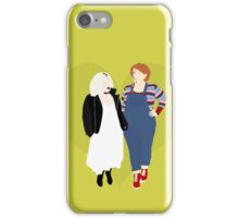 Plus Size Chucky and Bride of Chucky iPhone Case/Skin