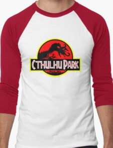 Cthulhu Park Men's Baseball ¾ T-Shirt