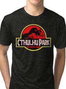 Cthulhu Park Tri-blend T-Shirt