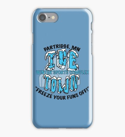 Parks and Rec: Ice Town Shirt iPhone Case/Skin