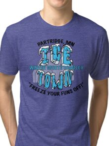 Parks and Rec: Ice Town Shirt Tri-blend T-Shirt