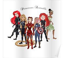 Princesses Assemble  Poster